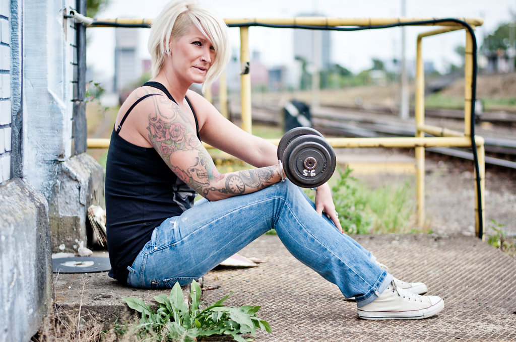 Melanie_im_Hafen_Duesseldorf